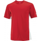 Wilson Men's On Court Crew (Red) (Team) - Men's Tops Tennis Apparel