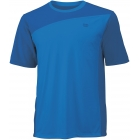 Wilson Men's Rush Colorblock Crew (Blue) - Wilson Men's Apparel Tennis Apparel