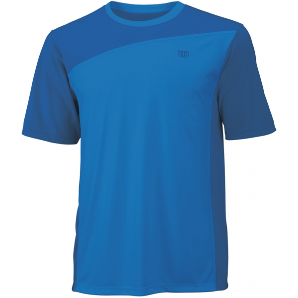 Wilson Men's Rush Colorblock Crew (Blue) (Team)