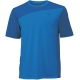 Wilson Men's Rush Colorblock Crew (Blue) - Wilson Tennis Apparel