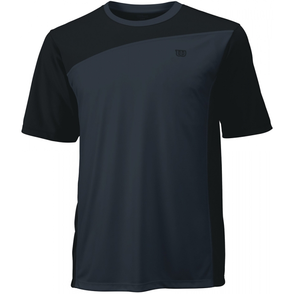 Wilson Men's Rush Colorblock Crew (Black/ Coal)