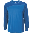 Wilson Men's Rush Colorblock LS Crew (Blue) (Team) - Wilson New Spring Apparel