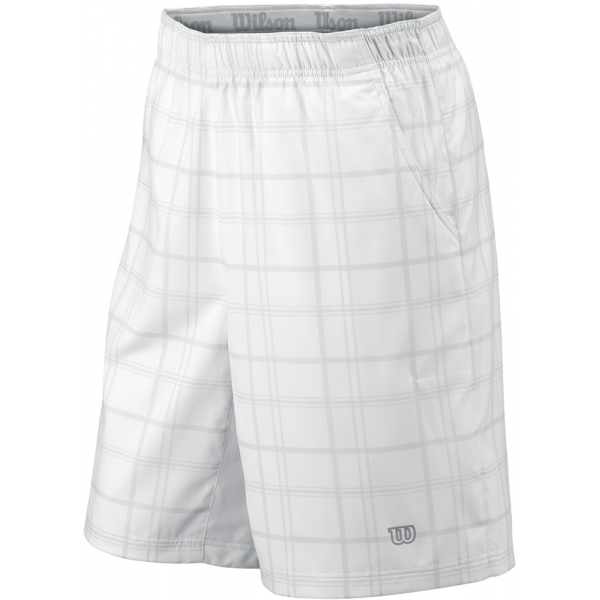 Wilson Men's Rush Plaid Short (White)