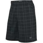 Wilson Men's Rush Plaid Short (Black) - Wilson Men's Apparel Tennis Apparel