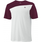 Wilson Men's Team Colorblock Crew (Cardinal) - Wilson