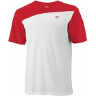 Wilson Men's Team Colorblock Crew (Red) - Wilson