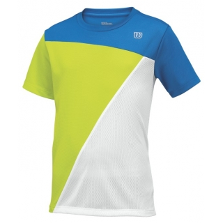 Wilson Boy's Tough Win Crew (Blue/ Lime/ White)