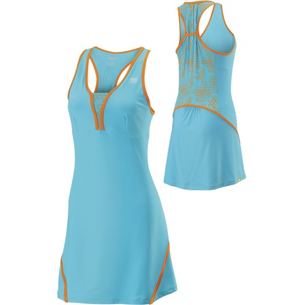 Wilson Women's Up A Set Dress (Oceana/ Orange)