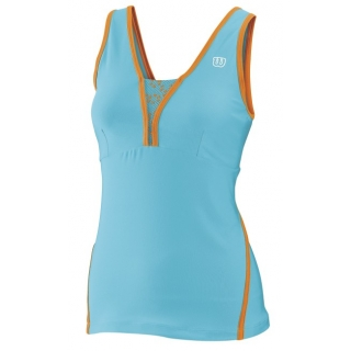 Wilson Women's Total Control Tank (Oceana/ Orange)