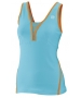 Wilson Women's Total Control Tank (Oceana/ Orange) - Wilson Women's Spring Apparel