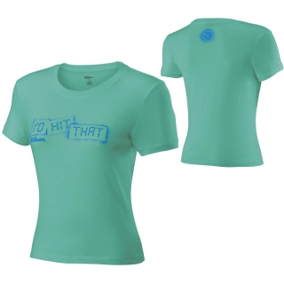 Wilson Womens Graphic Tee (Jade)