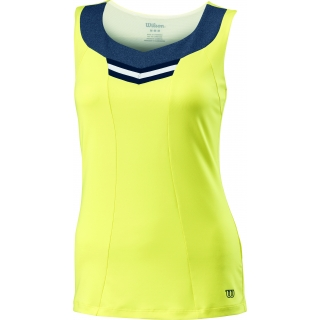 Wilson Women's Specialist V Neck Tank (Lemon)
