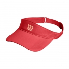 Wilson Rush Knit Tennis Visor Ultralight (Cayenne) - Tennis Hats