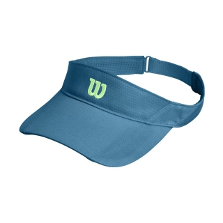 Wilson Rush Knit Tennis Visor Ultralight (Niagara Blue)