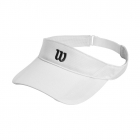 Wilson Rush Knit Tennis Visor Ultralight (White) - Tennis Hats