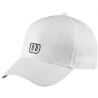Wilson Tour Embroidered W Cap (White) - Wilson Hats, Caps, and Visors Tennis Apparel