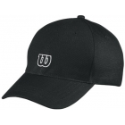 Wilson Tour Embroidered W Cap (Black) - Wilson Hats, Caps, and Visors Tennis Apparel