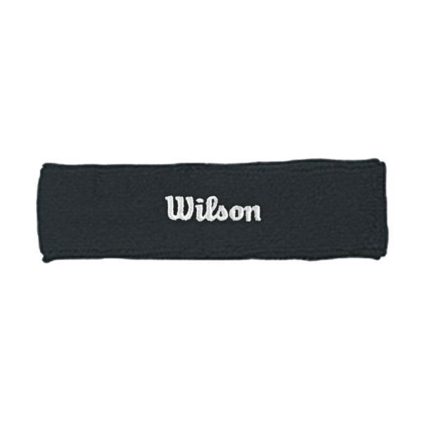 Wilson Tennis Headband (Black)