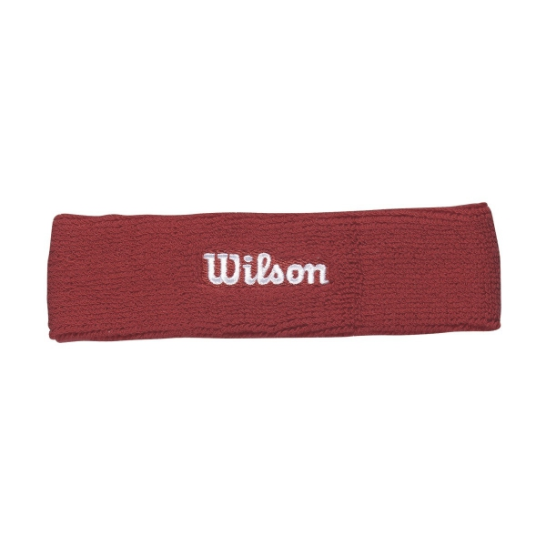 Wilson Tennis Headband (Wilson Red)