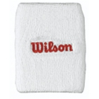 Wilson Double Wristbands (White) - Wilson Headbands & Writsbands Tennis Apparel