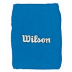 Wilson Double Wristbands (Pool Blue) - Wilson Headbands & Writsbands Tennis Apparel