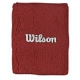 Wilson Double Wristbands (Red) - Wilson Headbands & Writsbands
