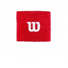Wilson 'W' Tennis Wristband (Wilson Red) -