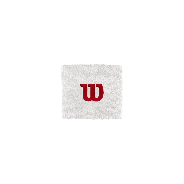 Wilson Double Tennis Wristband (White)