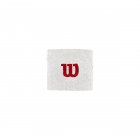 Wilson 'W' Tennis Wristband (White) - Tennis Accessories