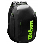 Wilson Super Tour Tennis Backpack (Black/Green) -