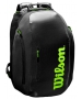 Wilson Super Tour Tennis Backpack (Black/Green) - NEW: Wilson Blade v7.0 Tennis Racquets, Bags, and Accessories