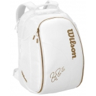 Wilson Federer DNA Tennis Backpack (White/Gold) - Wilson Tennis Bags