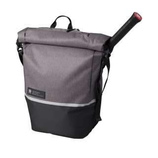Wilson Roll Top Tennis Backpack (Charcoal)
