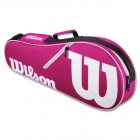 Wilson Advantage II Tennis Bag (Pink/White) - Wilson Advantage Tennis Bags