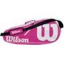 Wilson Advantage II Tennis Bag (Pink/White)