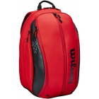 Wilson RF (Federer) DNA Tennis Backpack (Red/Black) -