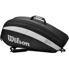 Wilson Federer Team 6 Pack Tennis Bag (Black) -