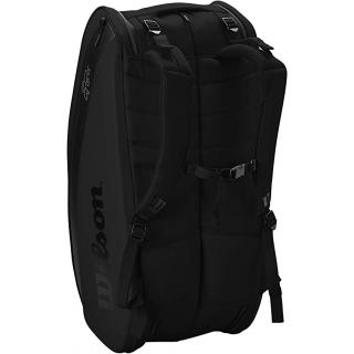 Wilson RF (Federer) DNA 12 Pack Tennis Bag (Black)