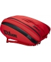 Wilson RF (Federer) DNA 12 Pack Tennis Bag (Infrared) - Wilson Tennis Bags