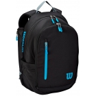 Wilson Ultra Tennis Backpack (Black/Blue/Silver) - - Best Selling Tennis Gear. Discover What Other Players are Buying!