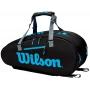 Wilson Ultra 9 Pack Tennis Bag (Black/Blue/Silver)
