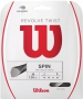 Wilson Revolve Twist 16g Grey Tennis String (Set) - Inexpensive Strings