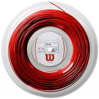 Wilson Revolve Twist 16g Red Tennis String (Reel)