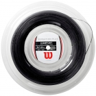Wilson Sensation Plus 16g Black Tennis String (Reel) -