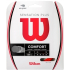 Wilson Sensation Plus 17g Red Tennis String (Set) - Arm Friendly Strings