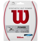 Wilson Synthetic Gut Power 16g Blue Tennis String (Set) - Wilson Tennis String