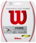 Wilson Synthetic Gut Power 16g Yellow Tennis String (Set) - Shop the Best Selection of Tennis String