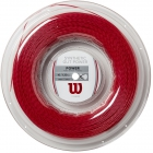 Wilson Synthetic Gut Power 16g Red Tennis String (Reel) - Wilson Tennis String