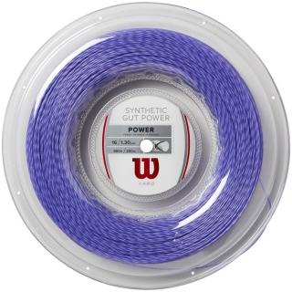 Wilson Synthetic Gut Power 16g Purple Tennis String (Reel)