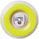 Wilson Synthetic Gut Power 16g Yellow Tennis String (Reel) - Synthetic Gut Tennis String Reels
